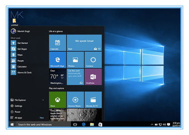 ประเทศจีน Professional Microsoft Windows 10 Product Key OEM Key Code 64 Bit ผู้ผลิต