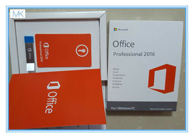 ประเทศจีน Microsoft Windows Software / Microsoft Office 2016 Pro Plus For 1 Windows/PC Life Time ผู้ผลิต