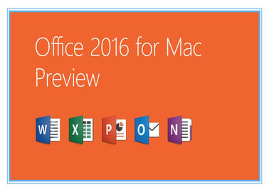 ประเทศจีน Home and Business Microsoft Office Professional 2016 Product Key for Mac Genuine license installation ผู้ผลิต