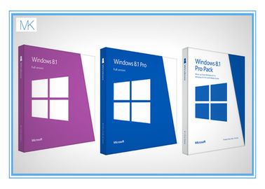 ประเทศจีน Original Windows 8.1 64 Bit Product Key Oem Package With DVD Key Card ผู้ผลิต