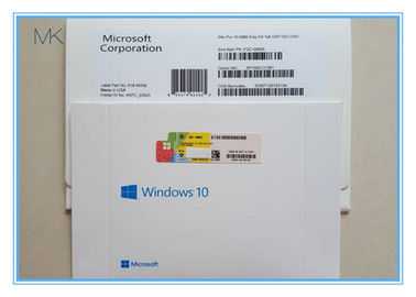 ประเทศจีน Spanish Language Microsoft Windows Software Win 10 Pro OEM 64 Bit ผู้ผลิต