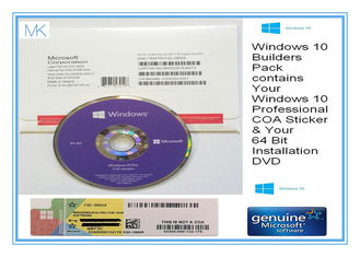 ประเทศจีน OEM Key Windows10 Pro 32 Bit 64 Bit online activaton for system installation White box ผู้ผลิต