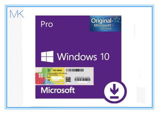 ประเทศจีน Windows 10 Pro 64 Bit Retail Original License Key Code For English Version ผู้ผลิต