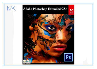 ประเทศจีน Brand New Adobe Photoshop Cs6 For Windows Retail 1 User Full Version Windows ผู้ผลิต