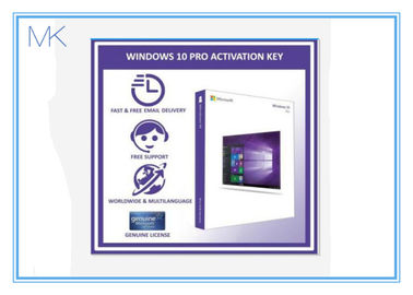 ประเทศจีน 100% Activation Online Windows 10 Retail Box 64 Bit Windows 10 Pro Software ผู้ผลิต