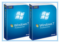 ประเทศจีน Microsoft Windows Software Windows 7 Pro 64 Bit Full Retail Version DVD Sofware With COA 100% Activation โรงงาน