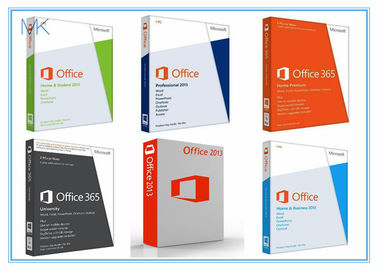 Microsoft Office 2013 Retail Box with DVD 32bit / 64bit No Language Limitation