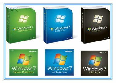 ประเทศจีน English Version Microsoft Updates For Windows 7 Professional Retail Box Activation Online โรงงาน