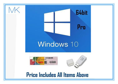 ประเทศจีน Professional Retail Version microsoft windows 10 pro 64 bit 32Gb USB Install โรงงาน