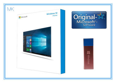 ประเทศจีน 64 Bit DVD OEM License Microsoft Windows 10 Operating System  / home Software French activation online โรงงาน