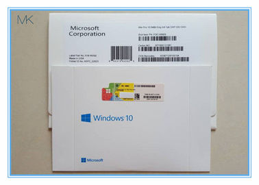 ประเทศจีน MS Windows 10 Pro OEM Pack original Sticker system installation activation online โรงงาน